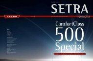 Special ComfortClass 500 - Setra