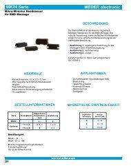 Datenblatt Meder MK24-Serie - setron