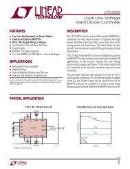 LTC4353 - Dual Low Voltage Ideal Diode Controller - setron
