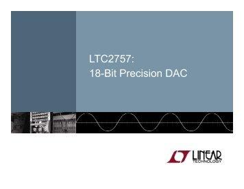 Linear Technology LTC2757: Linear Technology ... - setron