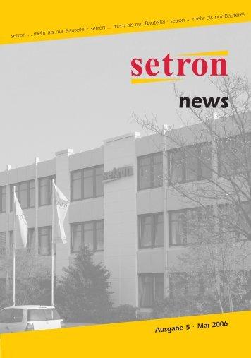 setron …mehr als nur Bauteile