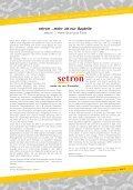 setron …mehr als nur Bauteile - Page 3