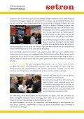 Ausführlicher Bericht von Jennifer Strübig zur electronica 2012 - setron - Page 2
