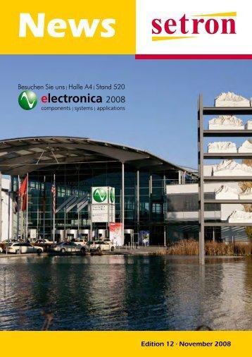 Edition 12 . November 2008 - setron