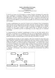 Analyse automatique du slovaque - LaLIC