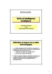 Veille et Intelligence stratégique - LaLIC