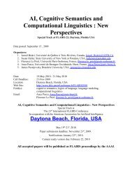 Applied Natural Language Processing - LaLIC - Université Paris ...