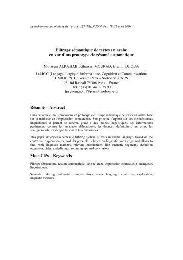 lexicologie et semantique pdf free