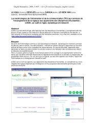 papier - LaLIC - Université Paris-Sorbonne