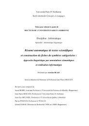 Le résumé automatique de textes - LaLIC - Université Paris-Sorbonne