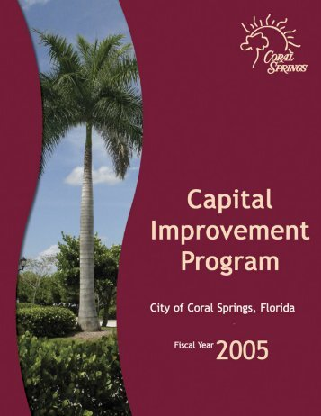 CIP - coralsprings.org - City of Coral Springs