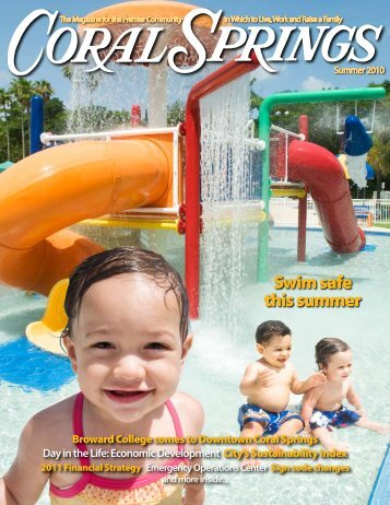 Swim safe this summer - City of Coral Springs