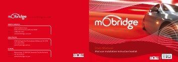 A2010 User Manual - mObridge