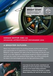 BRIGHT START - Nissan