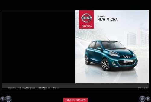 NEW MICRA - Nissan