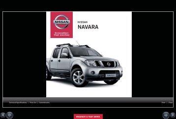 Navara Specs PDF - Nissan