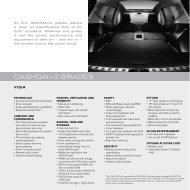 QASHQAI+2 GRADES - Nissan