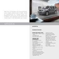 grades - Nissan