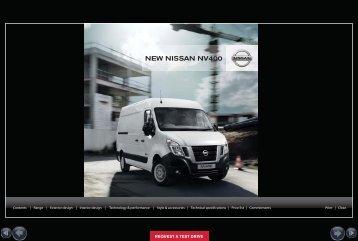NEW NISSAN NV400