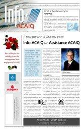 Info ACAIQ Newsletter 12-2002 - oaciq