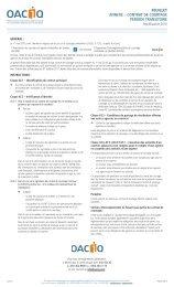 Feuillet Annexe – COntrAt de COurtAge PérIOde trAnsItOIre - oaciq