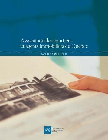 Rapport annuel 2006 - oaciq