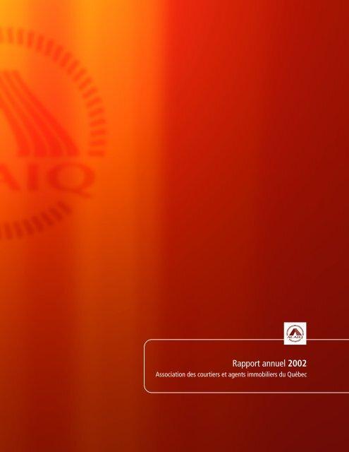 Rapport annuel 2002 - oaciq