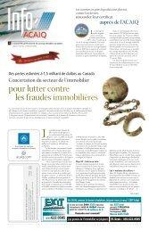 Journal L'Info ACAIQ 12-2004 - oaciq