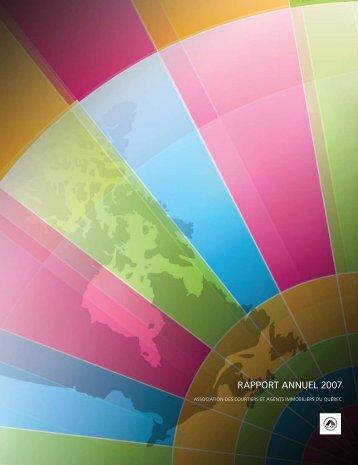 RAPPORT ANNUEL 2007 - oaciq