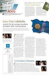 Journal L'Info ACAIQ 07-2004 - oaciq
