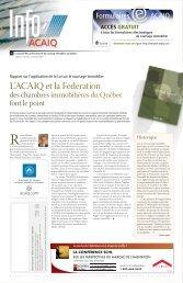 Journal L'Info ACAIQ 10-2004 - oaciq