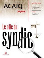 ACAIQ magazine 5/3 - oaciq