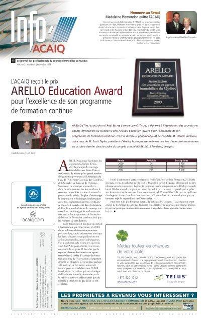 Journal L'Info ACAIQ 11-2003 - oaciq