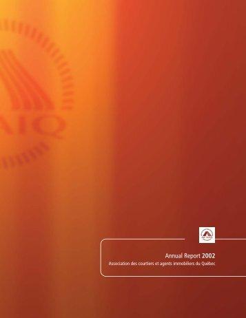 Annual Report 2002 - oaciq