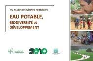 EAU POTABLE, - Convention on Biological Diversity
