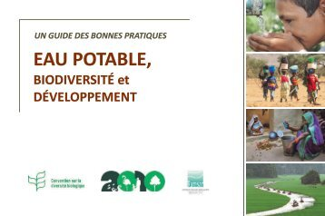 EAU POTABLE, - Convention on Biological Diversity
