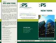 RPS New York - Office Brochure - Risk Placement Services, Inc.