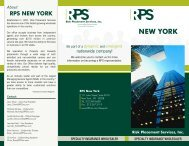 RPS New York - Risk Placement Services, Inc.