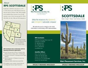 RPS Scottsdale - Office Brochure - Risk Placement Services, Inc.