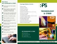 RPS TECHNOLOGY & CYbER - Risk Placement Services, Inc.