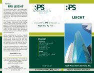 RPS Kansas City - Location Brochure - Risk Placement Services, Inc.