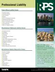Professional Liability Products and Services - Page 2