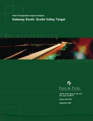 Transportation Impact Analysis - Gateway South Retail Store