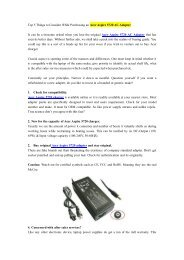 Top 5 Things to Consider While Purchasing an Acer Aspire 5720 AC Adapter.pdf
