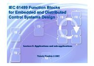 IEC 61499 Function Blocks for Embedded and Distributed Control ...