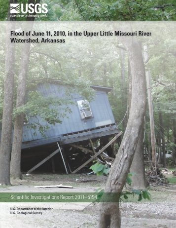 Flood of June 11, 2010, in the Upper Little Missouri River Watershed ...