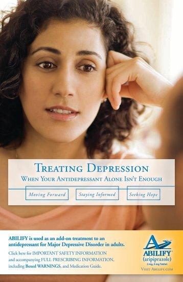 Treating Depression - Abilify