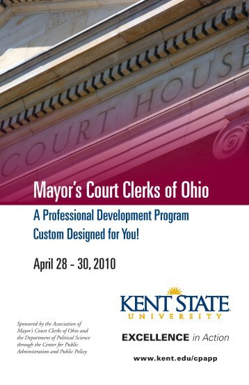 Mayor's Court Clerks of Ohio