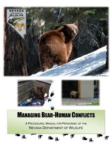 Managing Bear-Human Conflicts - Nevada Department of Wildlife