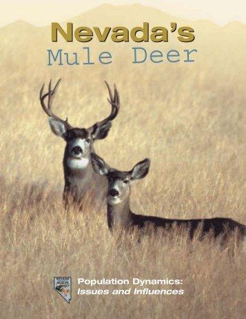 Nevada's Mule Deer - Nevada Department of Wildlife